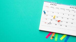 como criar um calendário editorial