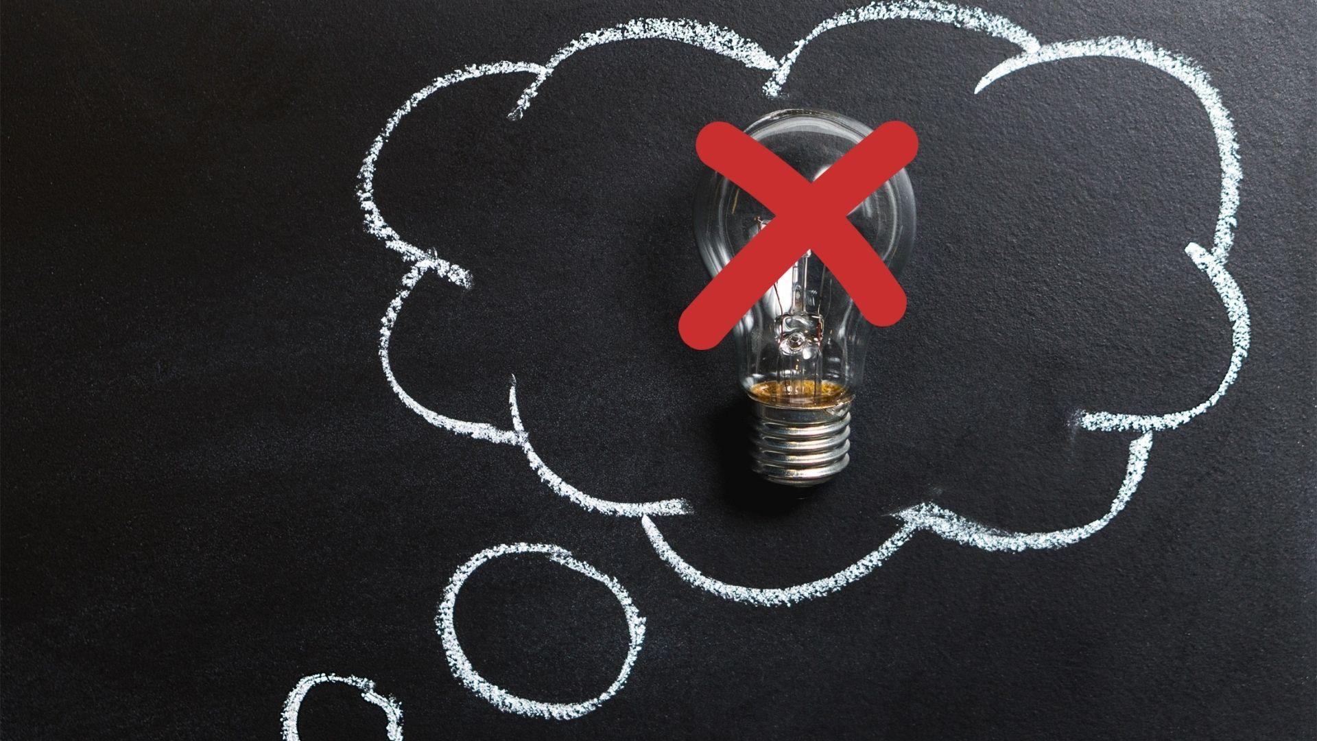 Cinco pensamentos que podem levar a falência do seu negócio na internet